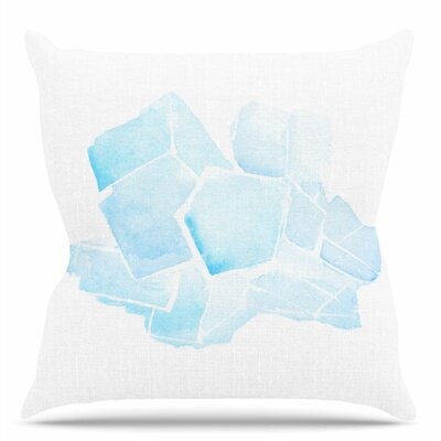 Quartz Throw Pillow Size: 16 H x 16 W x 6 D