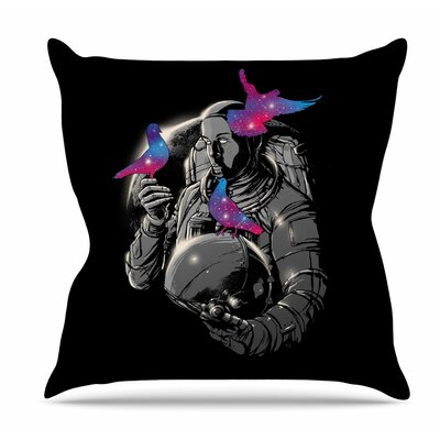 A Touch of Whimsy Throw Pillow Size: 16 H x 16 W x 6 D