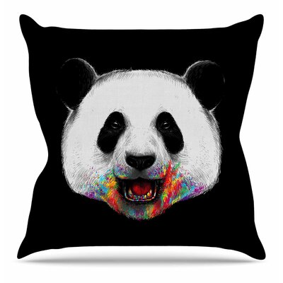 Where is the Rainbow? Throw Pillow Size: 20 H x 20 W x 7 D