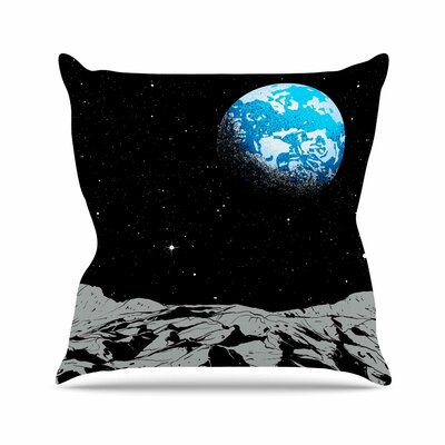 From the Moon Throw Pillow Size: 16 H x 16 W x 6 D
