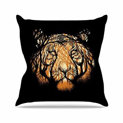 Hidden Hunter Throw Pillow Size: 26 H x 26 W x 7 D
