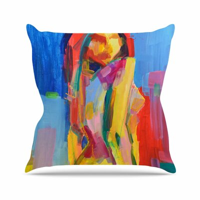 Violeta Throw Pillow Size: 18 H x 18 W x 6 D