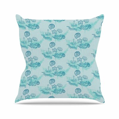 Ocea Throw Pillow Size: 20 H x 20 W x 7 D