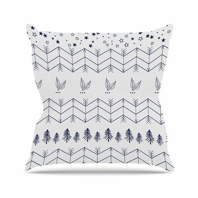 Tribal Arrows Jungle Stars Throw Pillow Size: 16 H x 16 W x 6 D