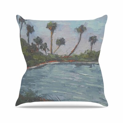 Lagoon Throw Pillow Size: 16 H x 16 W x 6 D