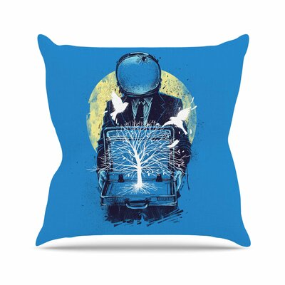 A New Life Throw Pillow Size: 20 H x 20 W x 7 D