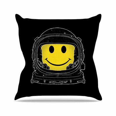 Happiness Throw Pillow Size: 20 H x 20 W x 7 D
