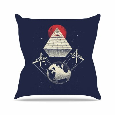 Under Control Throw Pillow Size: 26 H x 26 W x 7 D
