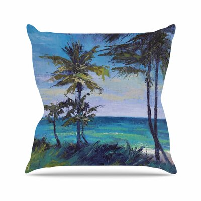 Room with a View Throw Pillow Size: 26 H x 26 W x 7 D