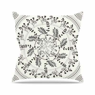 Magical Vibes Boho Madellion Throw Pillow Size: 18 H x 18 W x 6 D