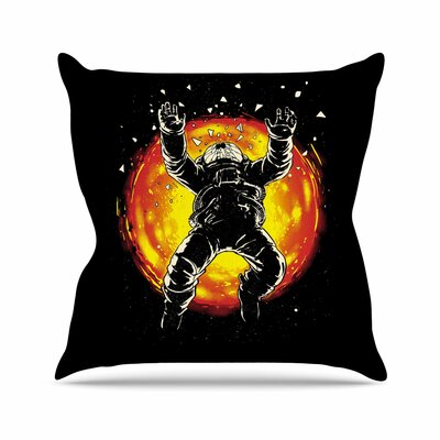 Lost in the Space Throw Pillow Size: 18 H x 18 W x 6 D
