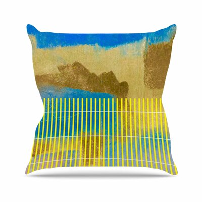 Okean Throw Pillow Size: 16 H x 16 W x 6 D