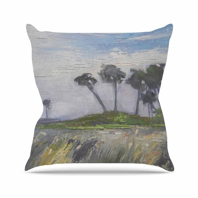 Wetlands Throw Pillow Size: 16 H x 16 W x 6 D