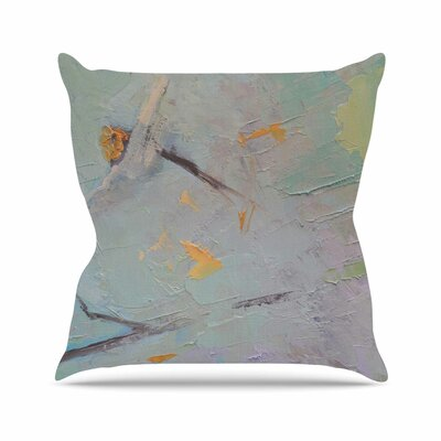 Suddenly Spring Burst Through Throw Pillow Size: 26 H x 26 W x 7 D