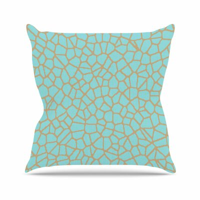Staklo III Throw Pillow Size: 26 H x 26 W x 7 D