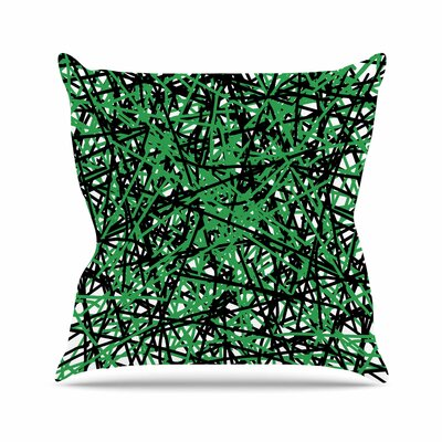 Trava V.4 Throw Pillow Size: 26 H x 26 W x 7 D