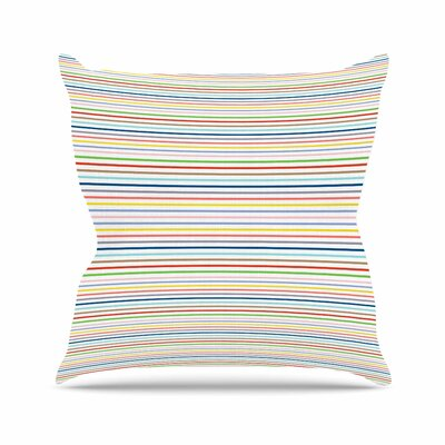 Pruge Throw Pillow Size: 16 H x 16 W x 6 D
