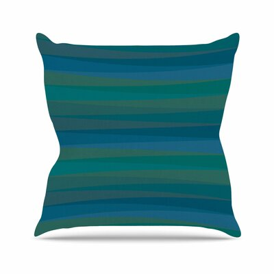 Trokuti V2 Throw Pillow Size: 16 H x 16 W x 6 D