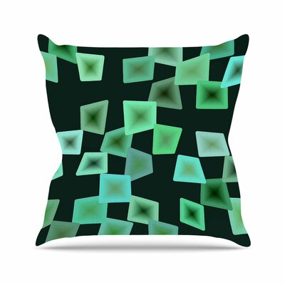 No Seaglass on the Shore Throw Pillow Size: 26 H x 26 W x 7 D