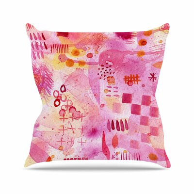 Sweet Dreams Throw Pillow Size: 18 H x 18 W x 6 D