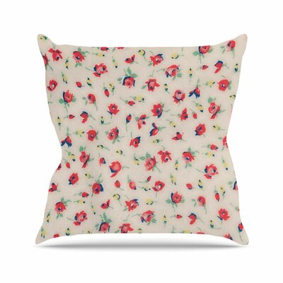 Pinkish Madellion Throw Pillow Size: 18 H x 18 W x 6 D