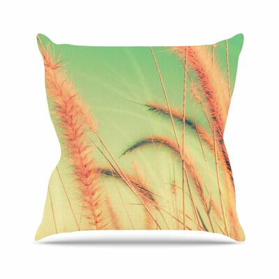 Dancing in Spring Throw Pillow Size: 26 H x 26 W x 7 D