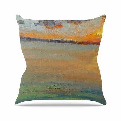 Reflections Throw Pillow Size: 26 H x 26 W x 7 D