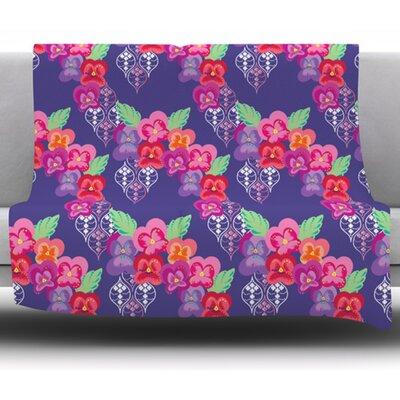 Beautifully Boho by Anneline Sophia Fleece Blanket Size: 60 W x 80 L
