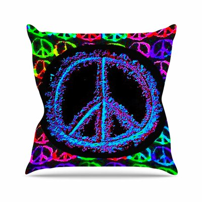 Heavenly Peace Anne LaBrie Throw Pillow Size: 26 H x 26 W x 4 D