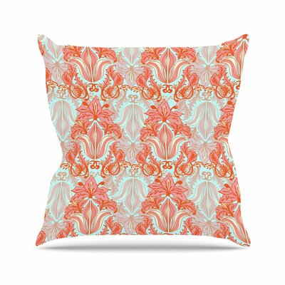Baroque Amy Reber Throw Pillow Size: 16 H x 16 W x 4 D