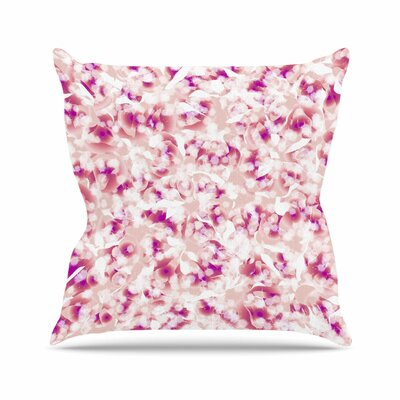 Rosebreath Angelo Cerantola Throw Pillow Size: 16 H x 16 W x 4 D