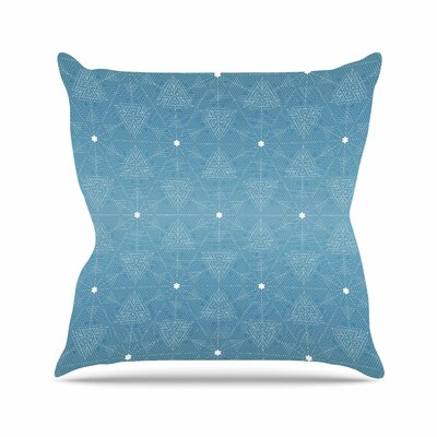 Celestial Angelo Carantola Throw Pillow Size: 16 H x 16 W x 4 D
