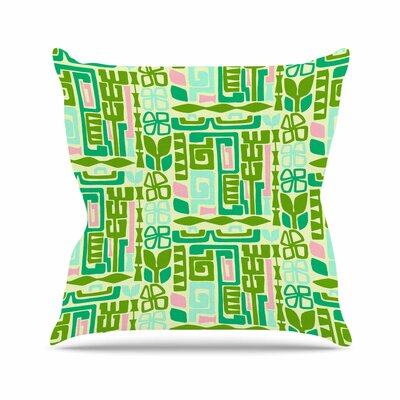 Maze Amy Reber Vector Throw Pillow Size: 20 H x 20 W x 4 D