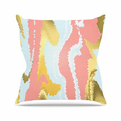 Modern Mosaic Throw Pillow Size: 16 H x 16 W x 4 D