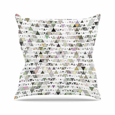 Triangulation Angelo Cerantola Throw Pillow Size: 18 H x 18 W x 4 D