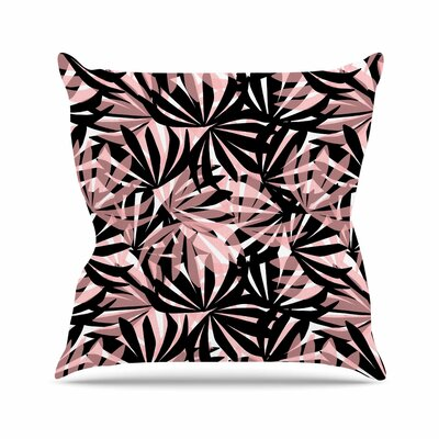 Palms Amy Reber Throw Pillow Size: 26