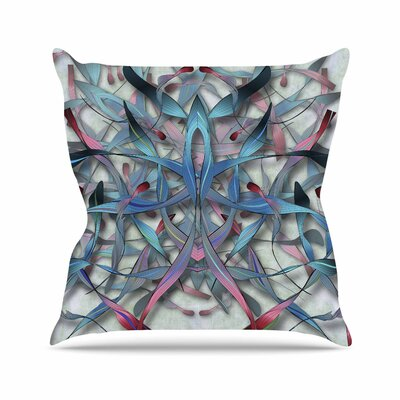 Wax and Wayne Angelo Carantola Throw Pillow Size: 18 H x 18 W x 4 D