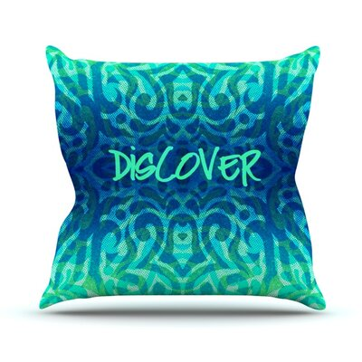 Tribal Discover Alveron Throw Pillow Size: 20 H x 20 W x 4 D