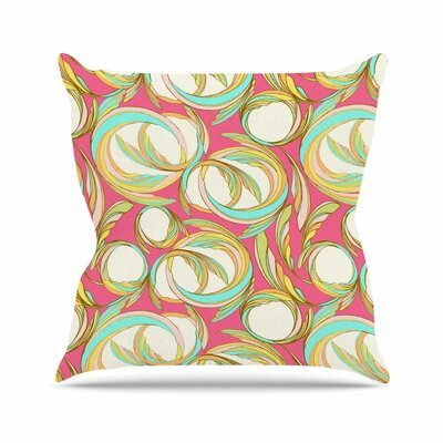 Cirle Sings Amy Reber Throw Pillow Size: 18