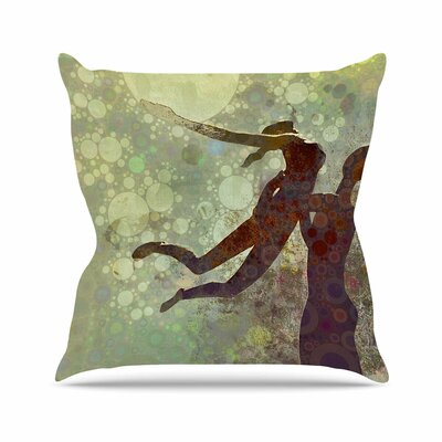 Lift AlyZen Moonshadow Throw Pillow Size: 18 H x 18 W x 4 D