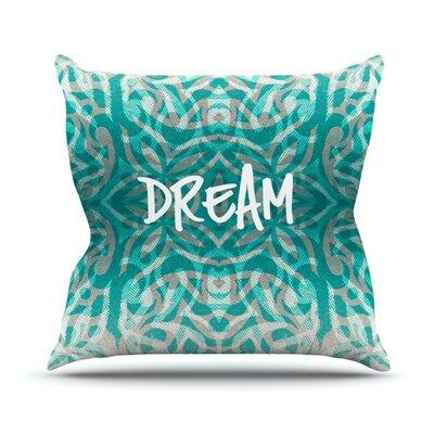Tribal Dreams Alveron Throw Pillow Size: 20 H x 20 W x 4 D