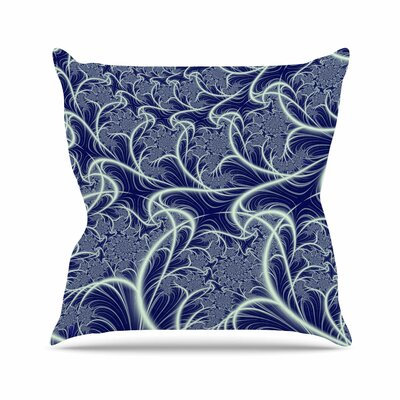 Midnight Dreams Alison Coxon Throw Pillow Size: 18 H x 18 W x 4 D