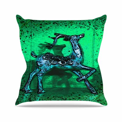 Dance on Anne LaBrie Throw Pillow Size: 18 H x 18 W x 4 D