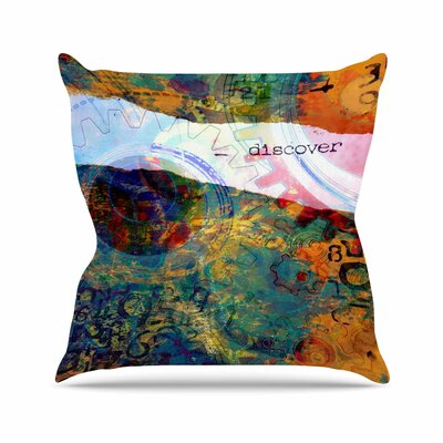 Discover 3 AlyZen Moonshadow Throw Pillow Size: 26 H x 26 W x 4 D