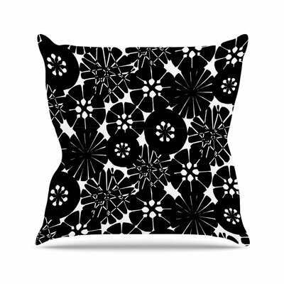 Circle Abstract Amy Reber Throw Pillow Size: 16 H x 16 W x 4 D