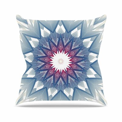 Starburst Angelo Carantola Throw Pillow Size: 16 H x 16 W x 4 D