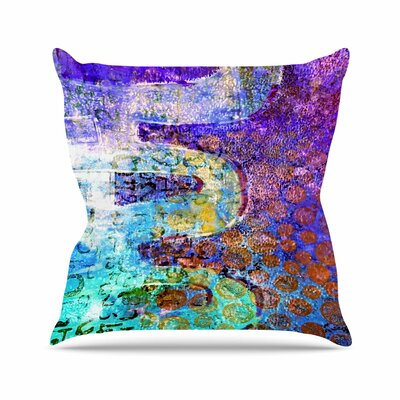 Arcane 2 AlyZen Moonshadow Throw Pillow Size: 16 H x 16 W x 4 D