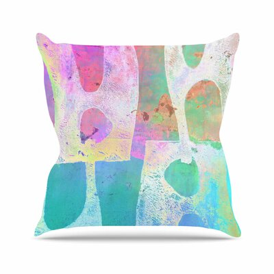 Villi AlyZen Moonshadow Throw Pillow Size: 16 H x 16 W x 4 D