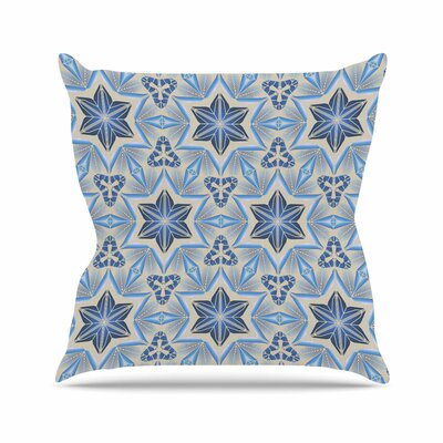 Astral Angelo Carantola Throw Pillow Size: 18 H x 18 W x 4 D
