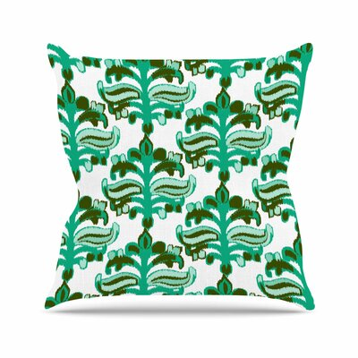 Chandelier Ikat Amy Reber Throw Pillow Size: 20